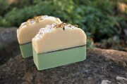 Green Tea Cucumber Soap