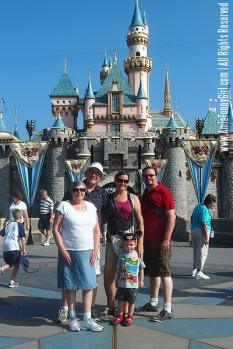 """The required """"in front of castle"""" photo"""