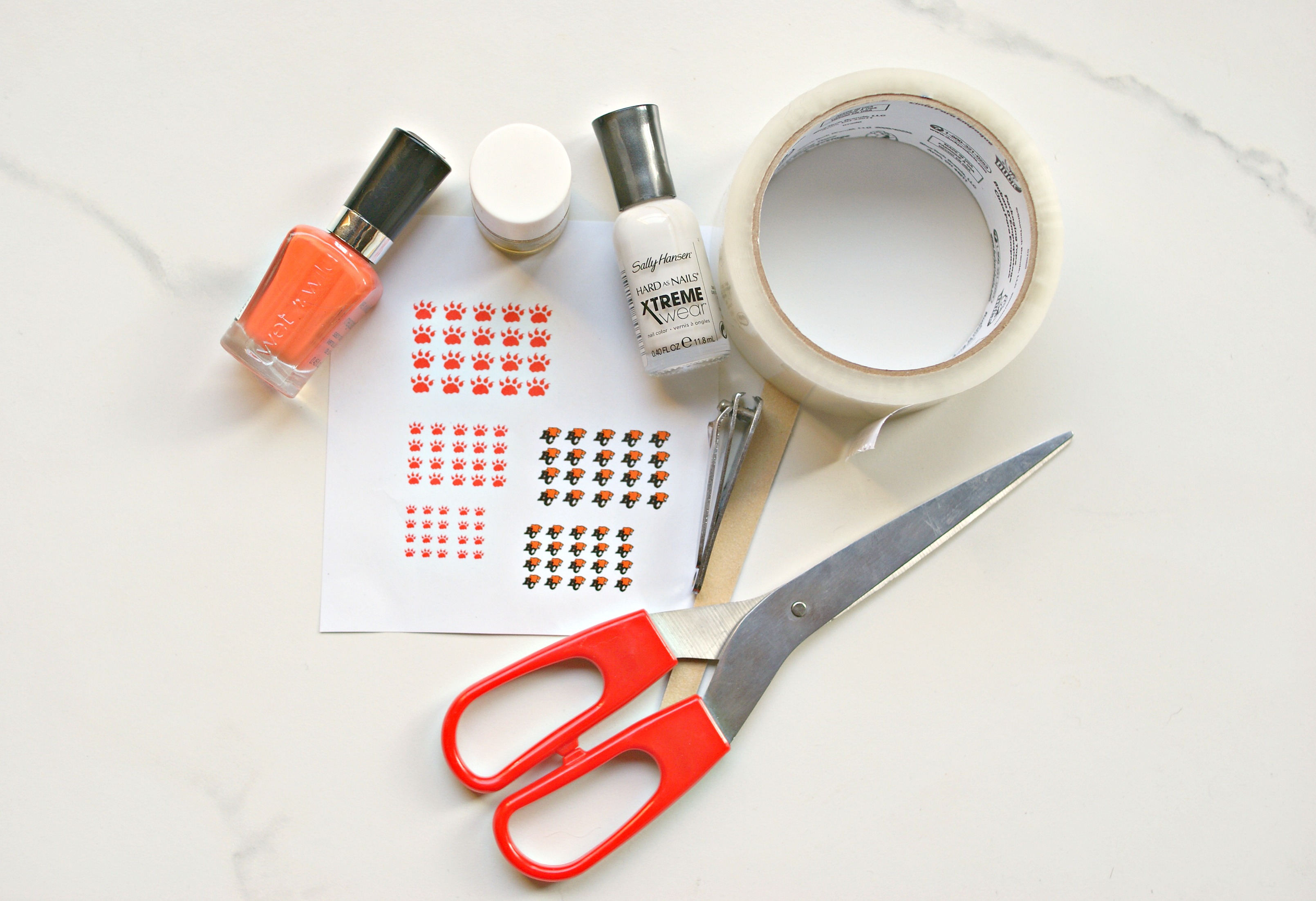 HOW TO: DIY Nail Decals - More Than Your Average Mom