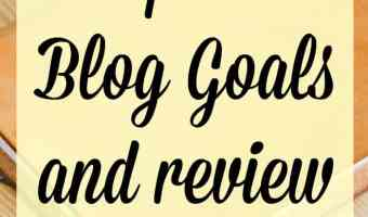 Review and Blog Goals