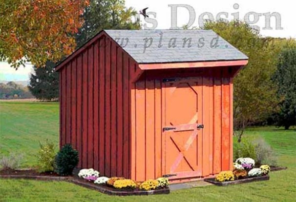 108 diy shed plans with detailed step by step tutorials free for Garden shed 6x6