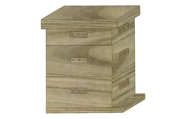bee hive 30