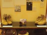 Public shoe exhibit, Weyerhaeuser Museum, 2014.