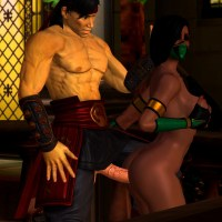 Jade is about to find out why Kitana likes Liu kang so much...