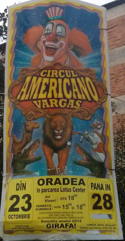 Circ Oradea - Octombrie 2014