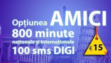RCS RDS Digi Mobil Italia - Amici 800