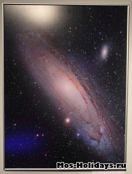 Туманность Андромеды.