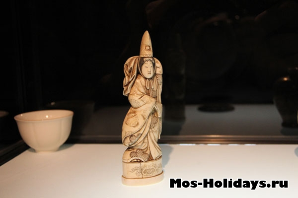 Окимоно на выставке самураев в Москве