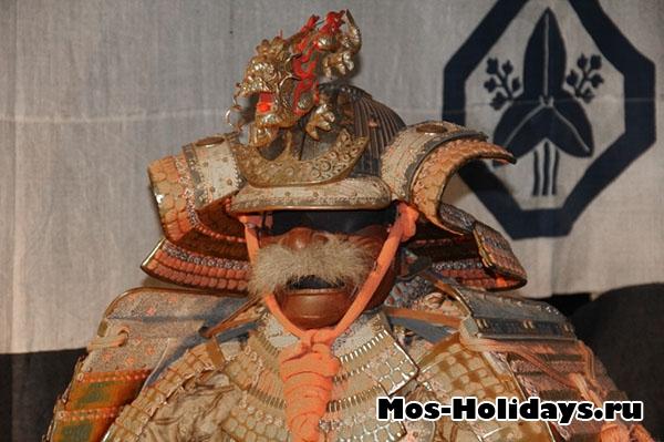 На выставке Самураи Art of War