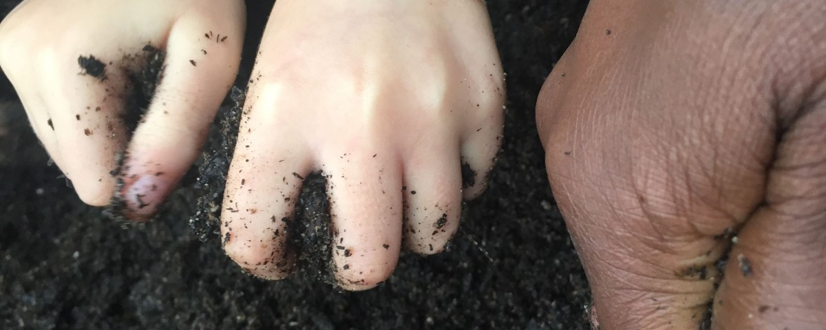 squish soil hands by ddmaucher