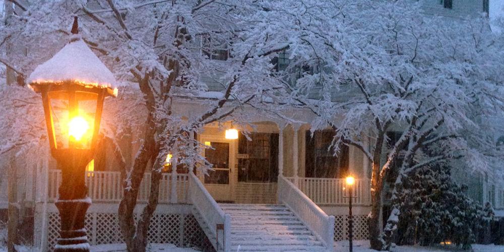 Winter at Moseley