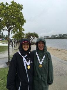 Gold Medal Girls Liz & Kath
