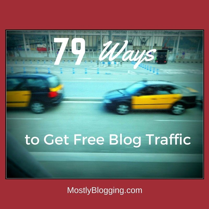 Bloggers can get free blog traffic