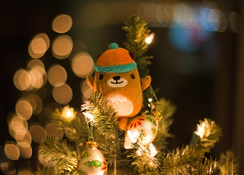 How to take beautiful Christmas tree bokeh shots