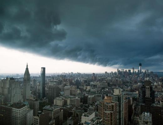 Extreme Storm Manhattan, NYC