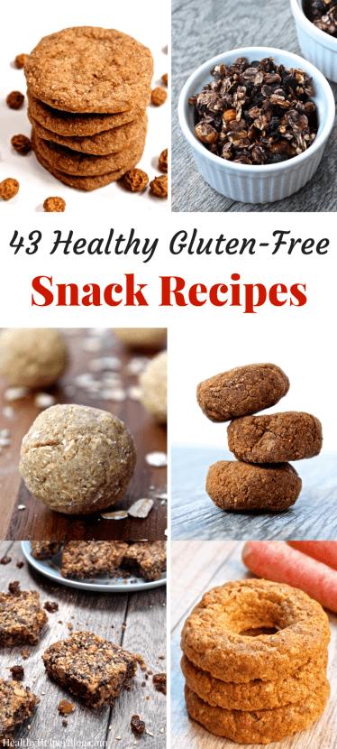 gluten free, healthy snack recipes, snack ideas