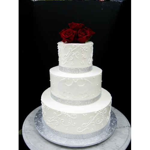 Medium Crop Of Batman Wedding Cake