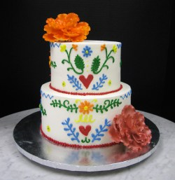 Small Of Mexican Wedding Cake
