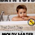 Don't buy bath toys that have holes in them. They will likely grow mold!
