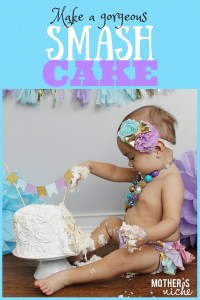 Make a Gorgeous Birthday SMASH CAKE