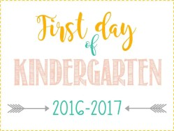 Interesting Girl Day Kindergarten Sign Ideas Day School Sign Kindergarten Sign Michaels School Free Printables Day Day