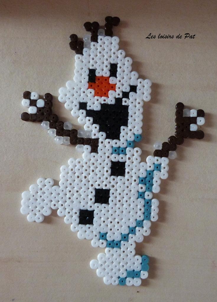 perles-a-repasser-olaf-reine-des-neiges