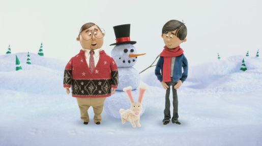 MAC and PC go stop motion for the holidays