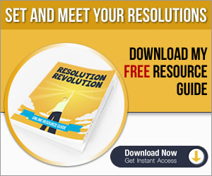 Resolution revolution banner 300X250