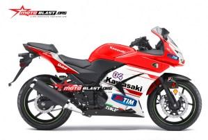 Stiker Ninja 250R Karbu – Ducati Motogp