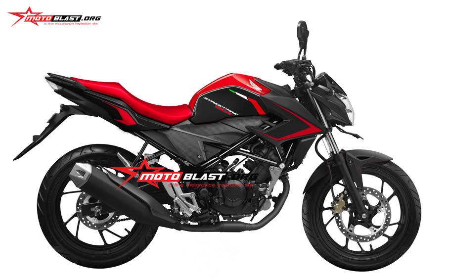 Graphic Kit Inspirasi Honda CB150R RED – Superdrags