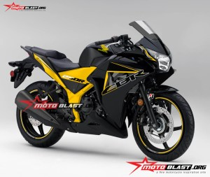 Graphic Kit Decal Stiker Honda CBR250R Thailand Black Fresh