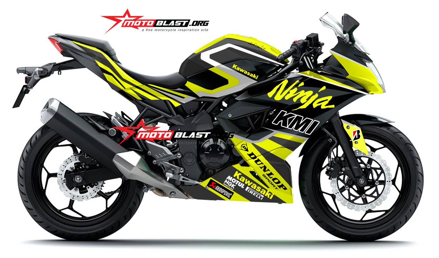 Graphic Kit Kawasaki Ninja 250RR Mono