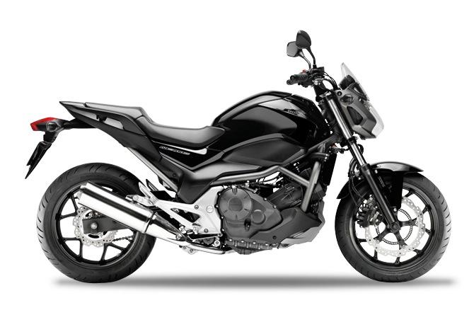 Honda NC700S Graphite Black