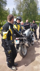 Experienced instructors from Touratech.