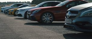 (VIDEO) Ultimate AMG drag race.
