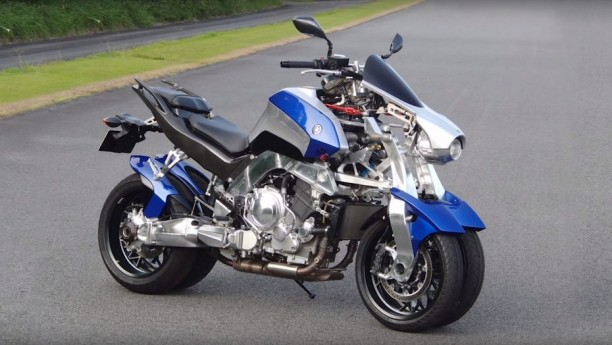 Yamaha OR2T leaning four-wheel motorcycle