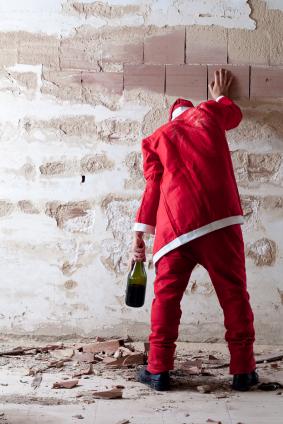 Christmas nightmare: When the mall Santa is too drunk or flirtatious