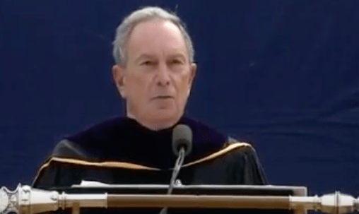 Michael Bloomberg blasts 'safe spaces' during University of Michigan commencement speech