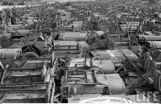 Jeep Willys MB Ford GPW Salvage Yard Okinawa 1949 C
