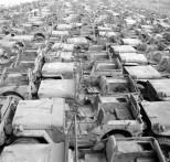 Jeep Willys MB Ford GPW Salvage Yard Okinawa 1949 D