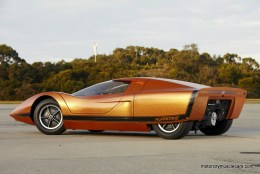 GM Holden Hurricane Concept Car Side View