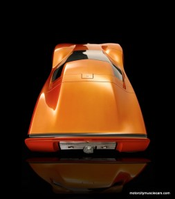 GM Holden Hurricane Concept Car Top View