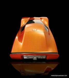 GM Holden Hurricane Concept Car Top View