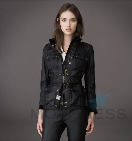 belstaff womens motorcycle jackets of british tradition motoress woman motorcycle enthusiast. Black Bedroom Furniture Sets. Home Design Ideas