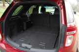 2013 Ford Explorer Folded Third Row