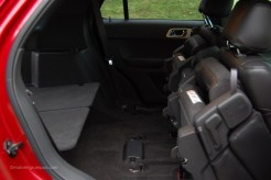 2013 Ford Explorer Second Row Seats Folded