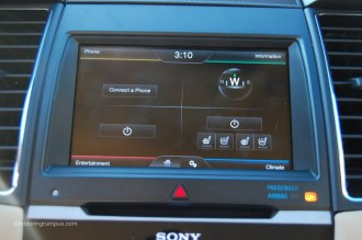 2013 Ford Taurus Sync MyFord Touch Screen