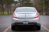 2013 Lincoln MKS Rear