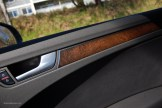 2014 Audi A4 Fine Grain Ash Natural Inlay Door Panel
