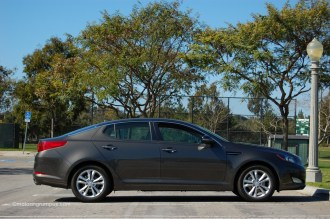 2013 Kia Optima Side